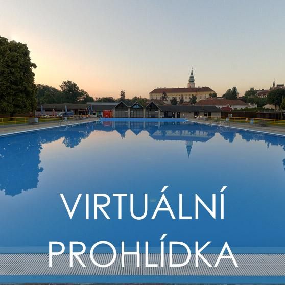 Virtuální prohlídka koupaliště Bajda v Kroměříži