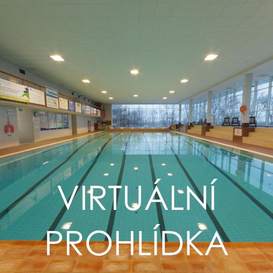 Virtuální prohlídka krytého plaveckého bazénu Kroměříž