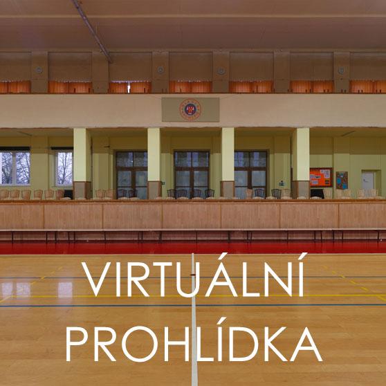 Virtuální prohlídka sportovní haly - tělocvičny Slavia Kroměříž