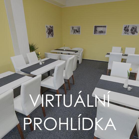 Virtuální prohlídka restaurace Aréna na zimním stadionu Kroměříž